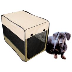 Soft Sided Steel and Cloth Portable Yard Kennel Size: 30