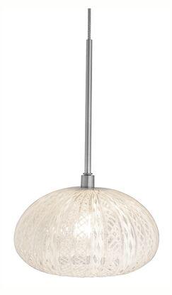 Urchin Rimini 1-Light Pendant Finish: Satin Nickel, Canopy Type: Dome, Transformer, No Jack
