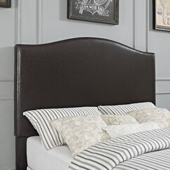 Sylwia Camelback Upholstered Panel Headboard Size: King/California King, Upholstery: Shale Microfiber