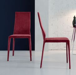 Star Upholstered Dining Chair (Set of 2) Color: Dandy Red