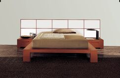 Wynd Platform Bed Size: King, Color: High Gloss White