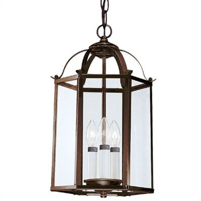 Sea Gull Lighting 5231-782 -  in Heirloom Bronze Pendant