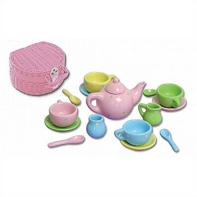 KidKraft 64601 - Poly - Porcelain Tea Set