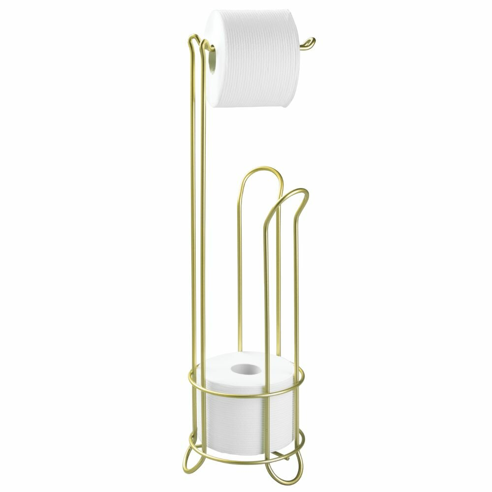 Interdesign classico free standing toilet paper holder Toilet paper holder free standing