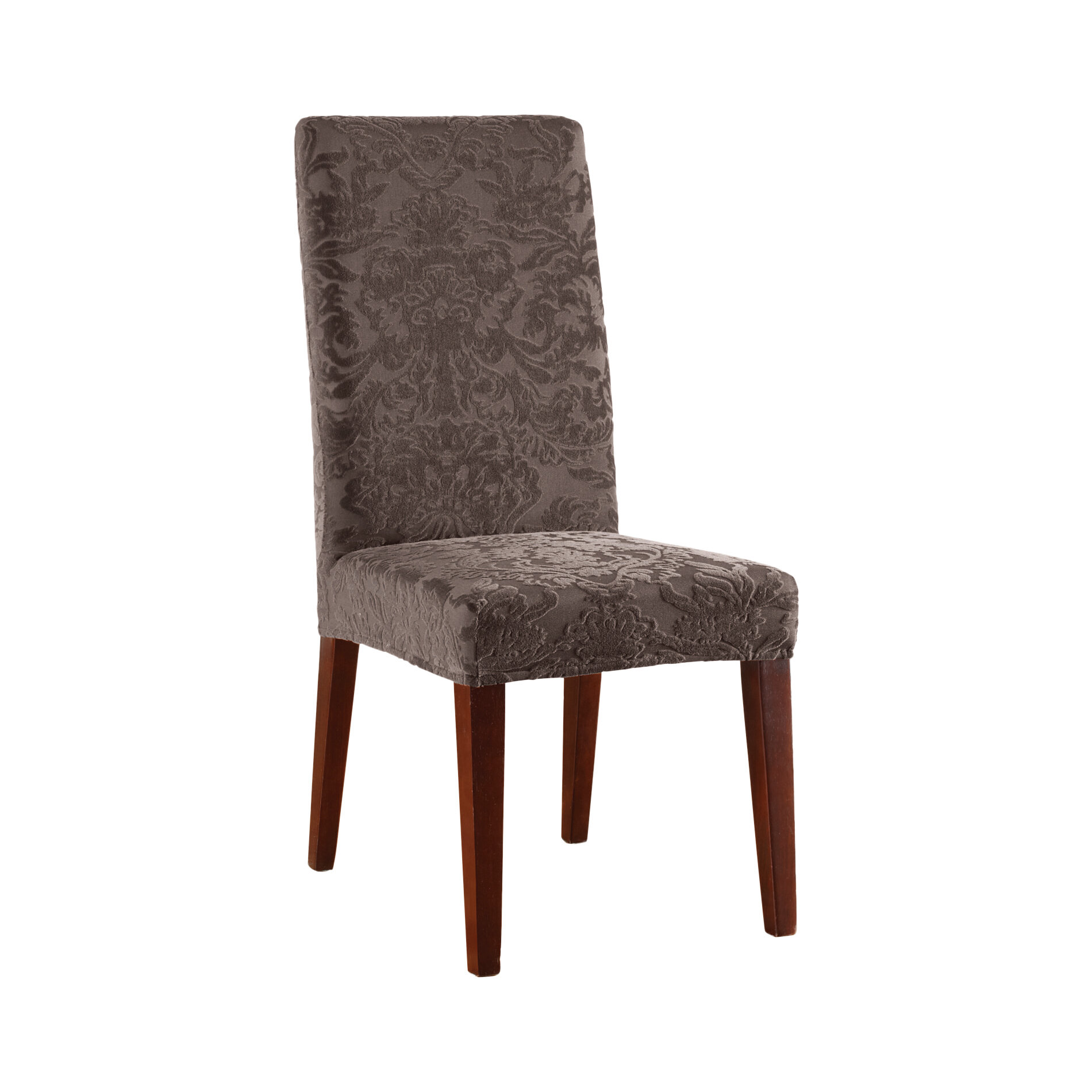 Sure Fit Stretch Jacquard Damask Dining Chair Slipcover | eBay