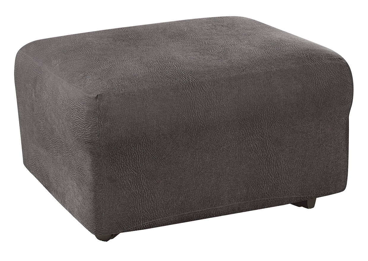 Sure Fit Ultimate Stretch Ottoman Slipcover | eBay