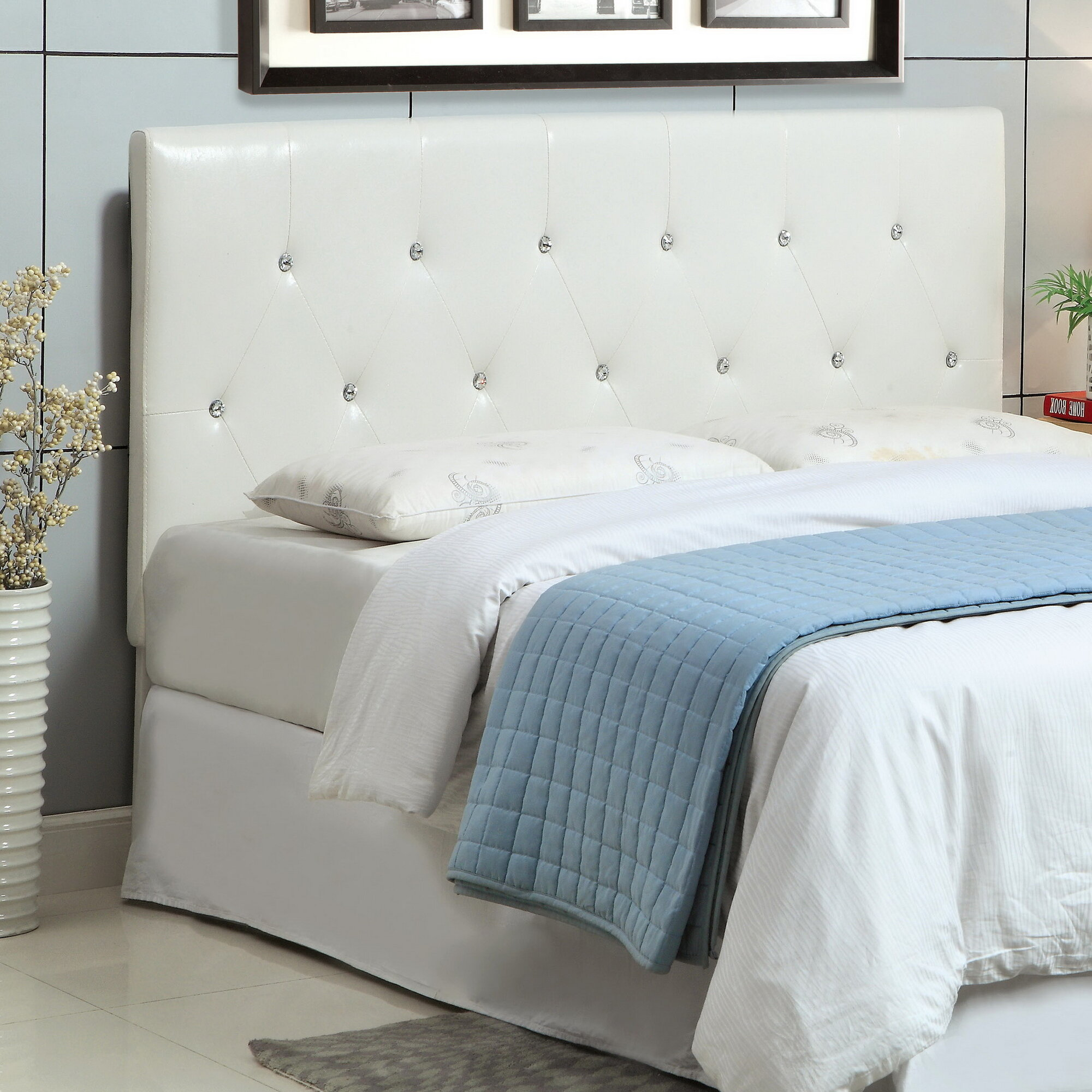 Hokku Designs Jermaine Upholstered Headboard Ebay