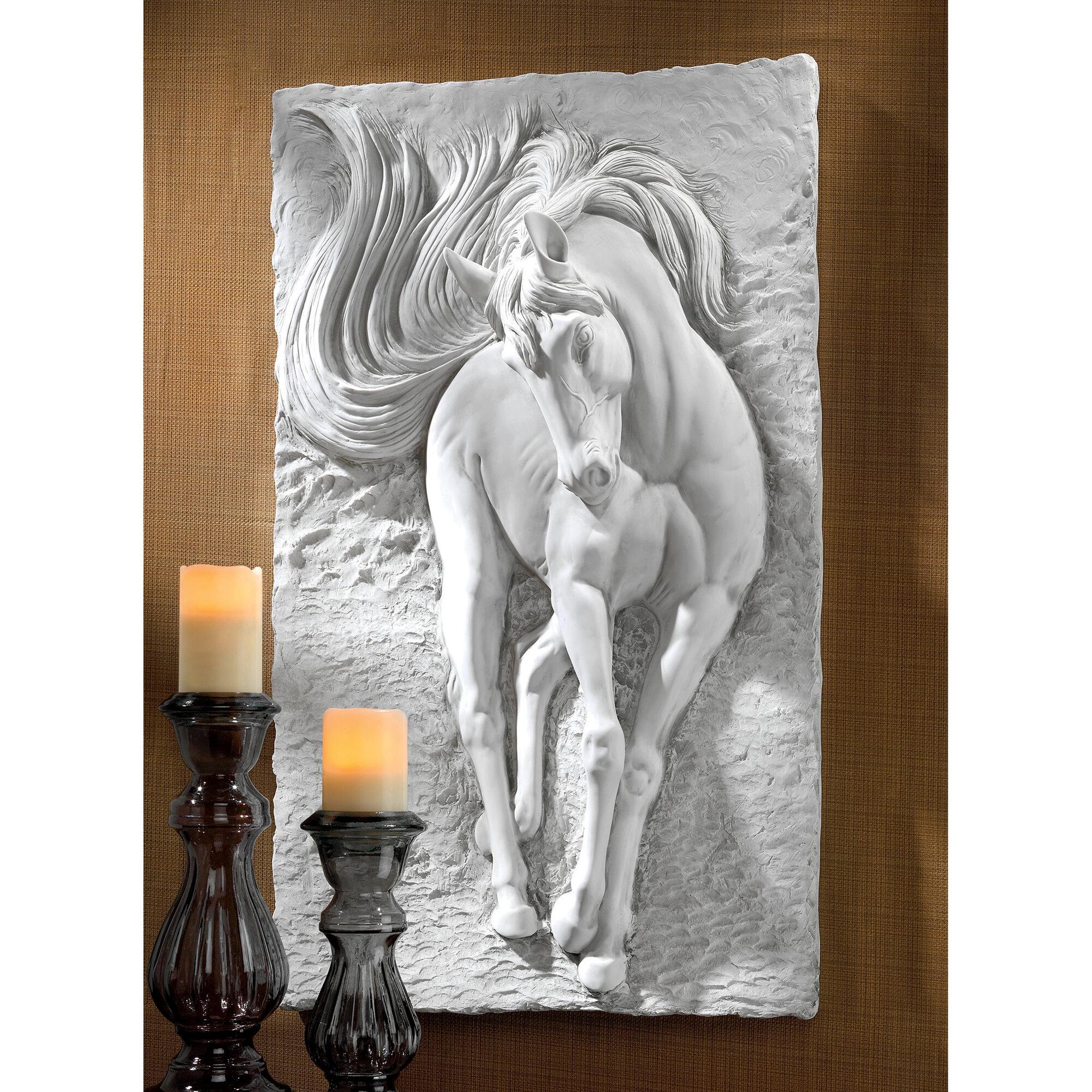 Design Toscano Equine Grandeur Horse Wall D?cor | eBay