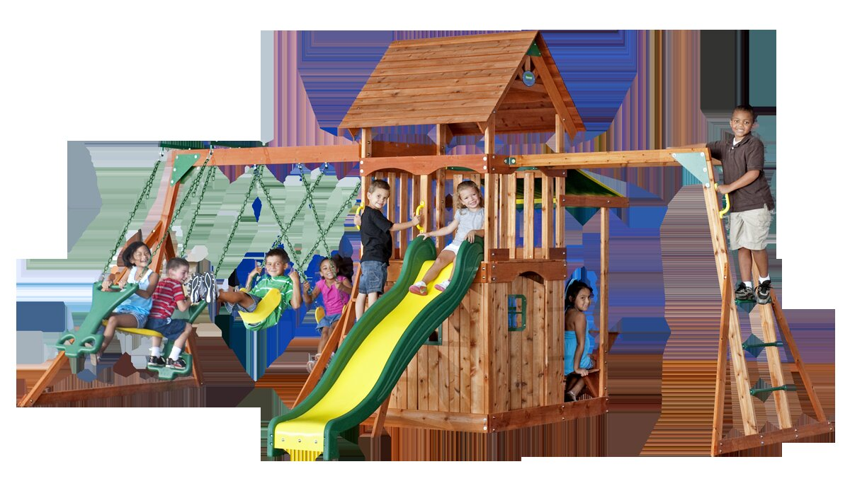 backyard discovery saratoga swing set ebay