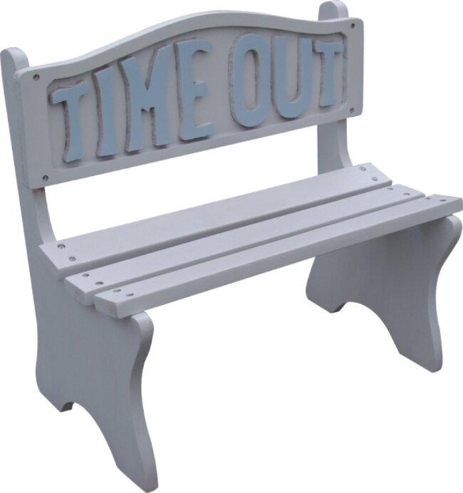 Dc America Time Out Wooden Bench Ebay