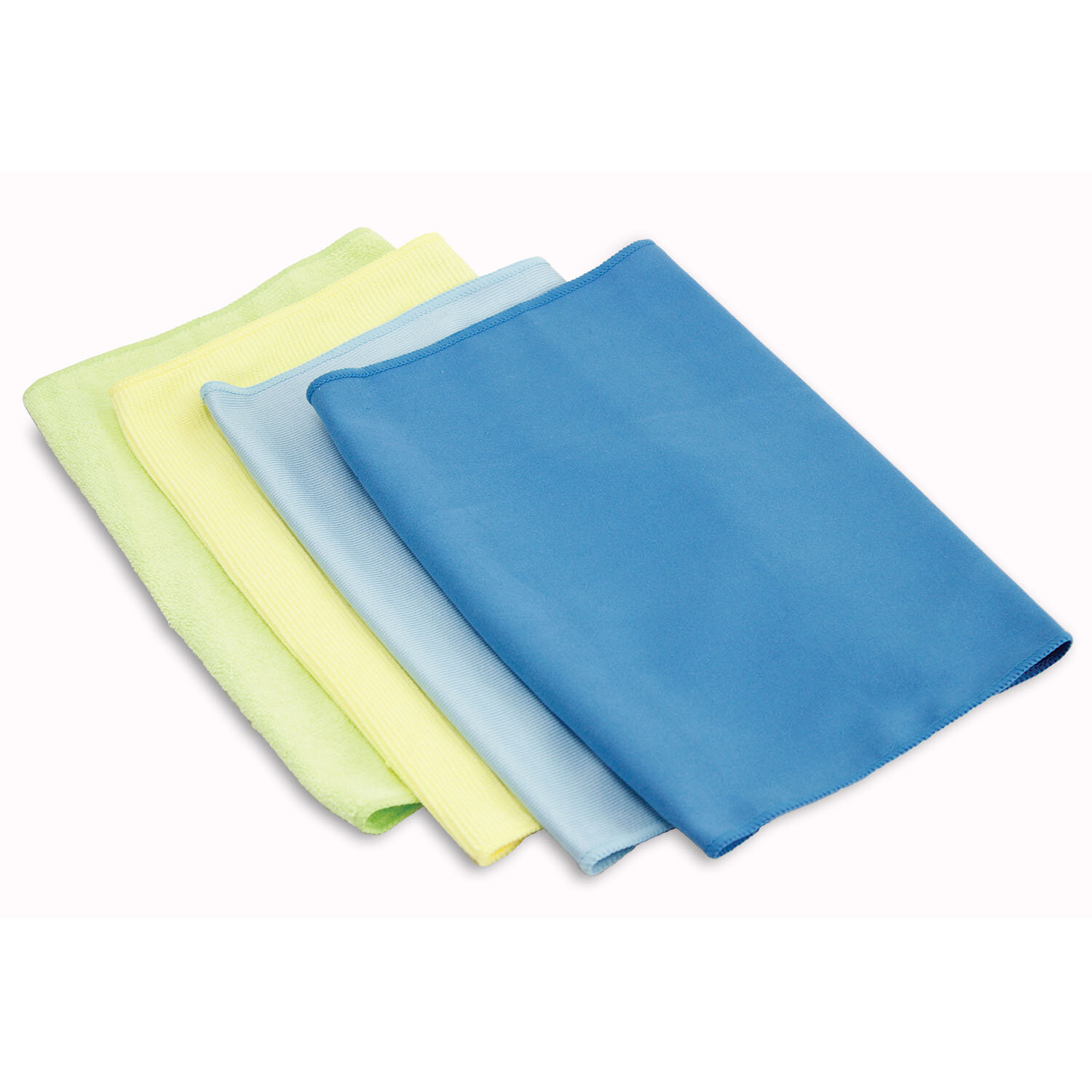 Microfiber Cloth Set: Libman Microfiber Cleaning Cloth Set Of 4