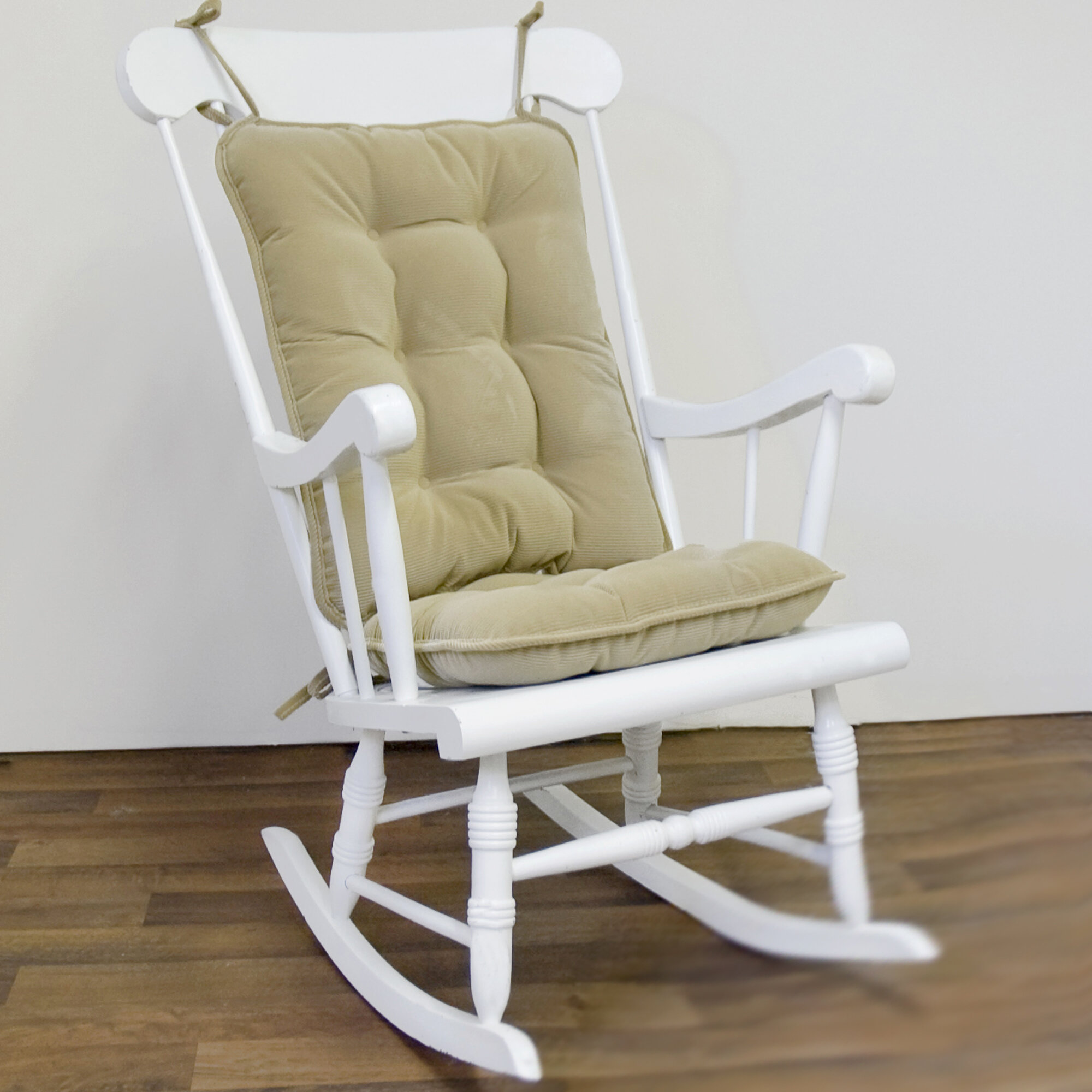 Greendale home fashions piece solid rocking chair