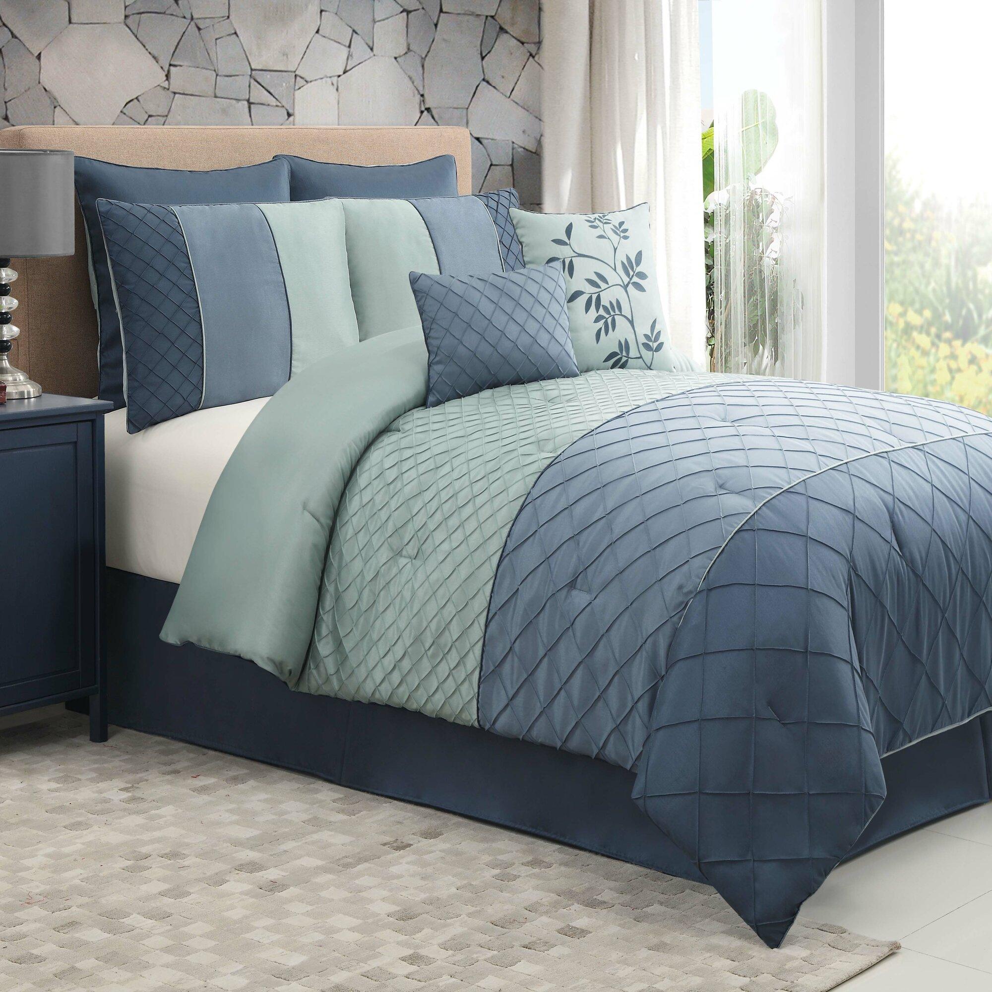 Details about victoria classics covington 8 piece comforter set
