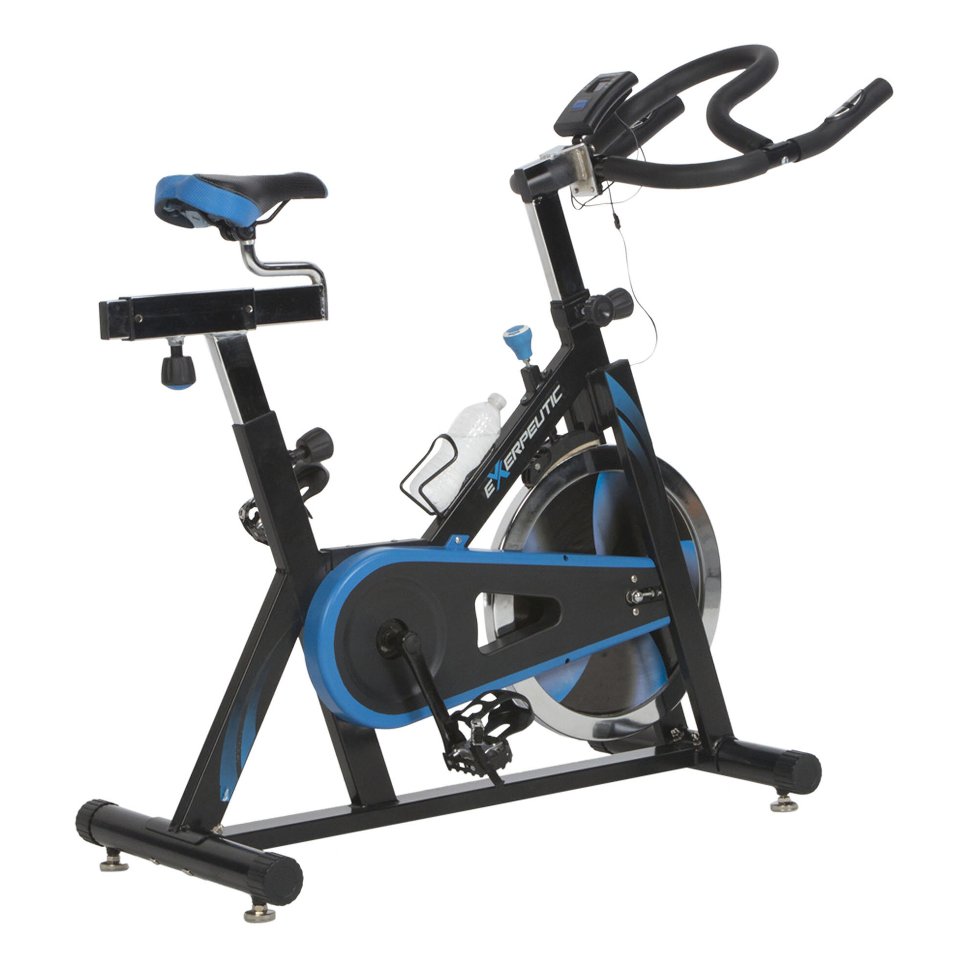 Indoor Cycling Trainer Za: Exerpeutic Fitness LX7 Indoor Training Cycling Bike