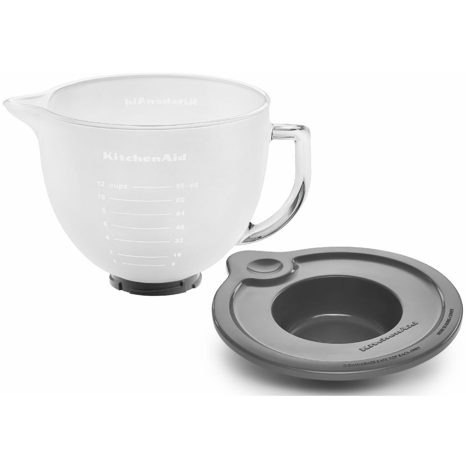 KitchenAid 5 Qt. Frosted Glass Bowl For Tilt-Head Stand