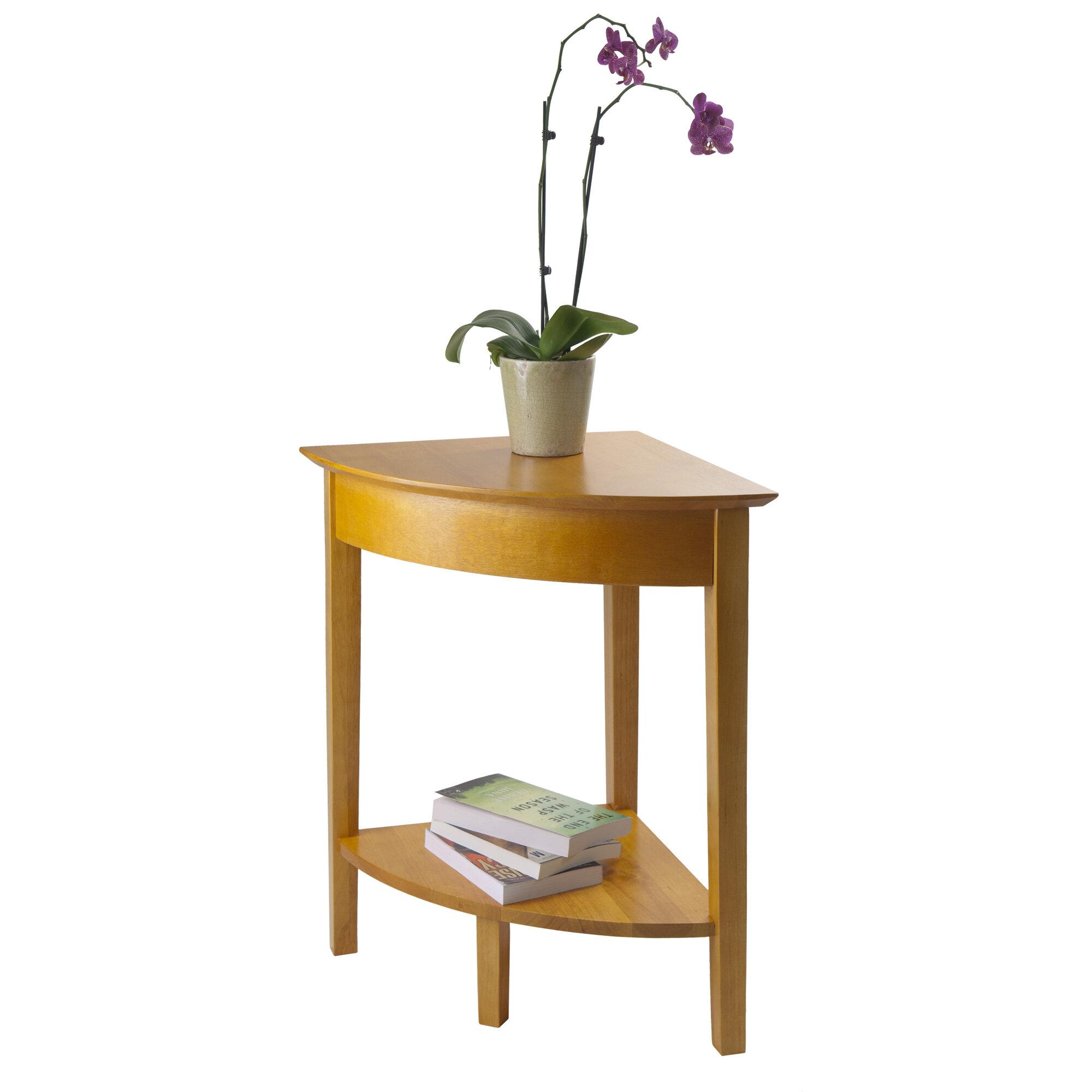 luxury home studio corner end table ebay. Black Bedroom Furniture Sets. Home Design Ideas