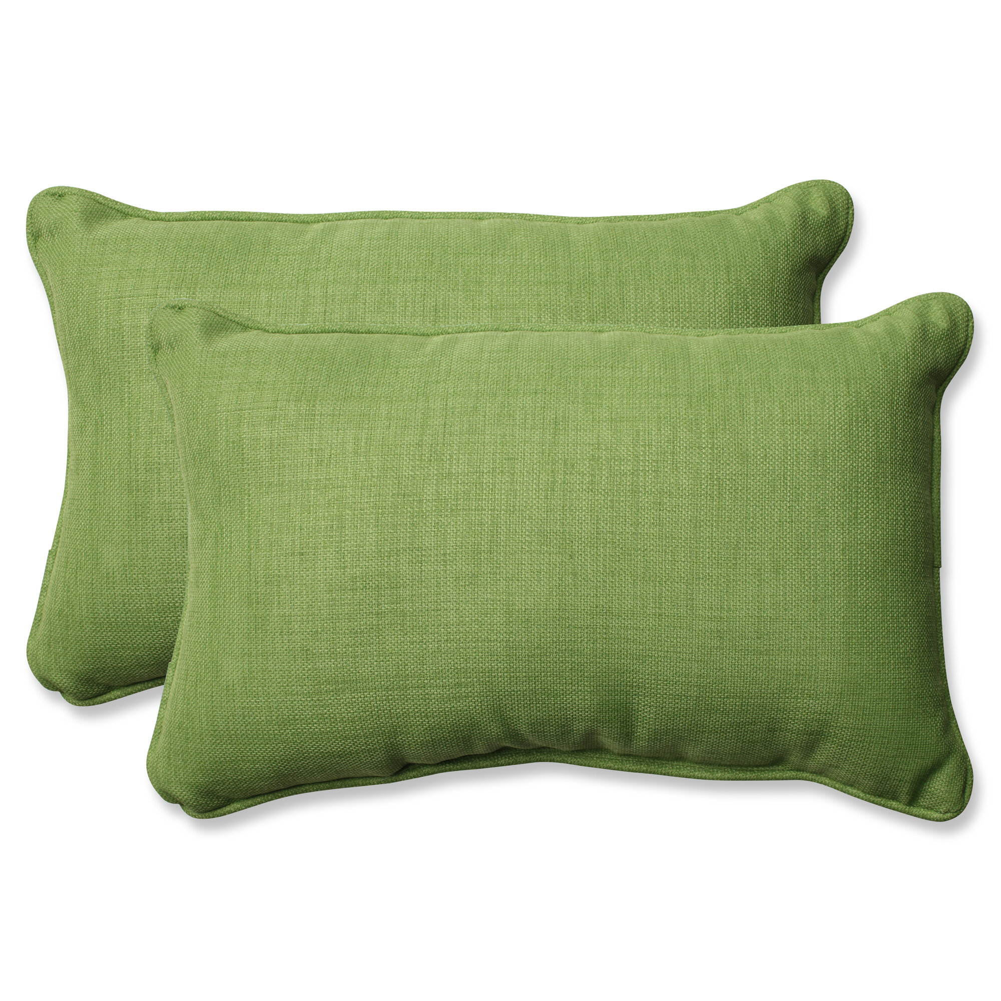 Outdoor Decorative Pillow Sets : Pillow Perfect Rave Lawn Indoor/Outdoor Throw Pillow Set of 2