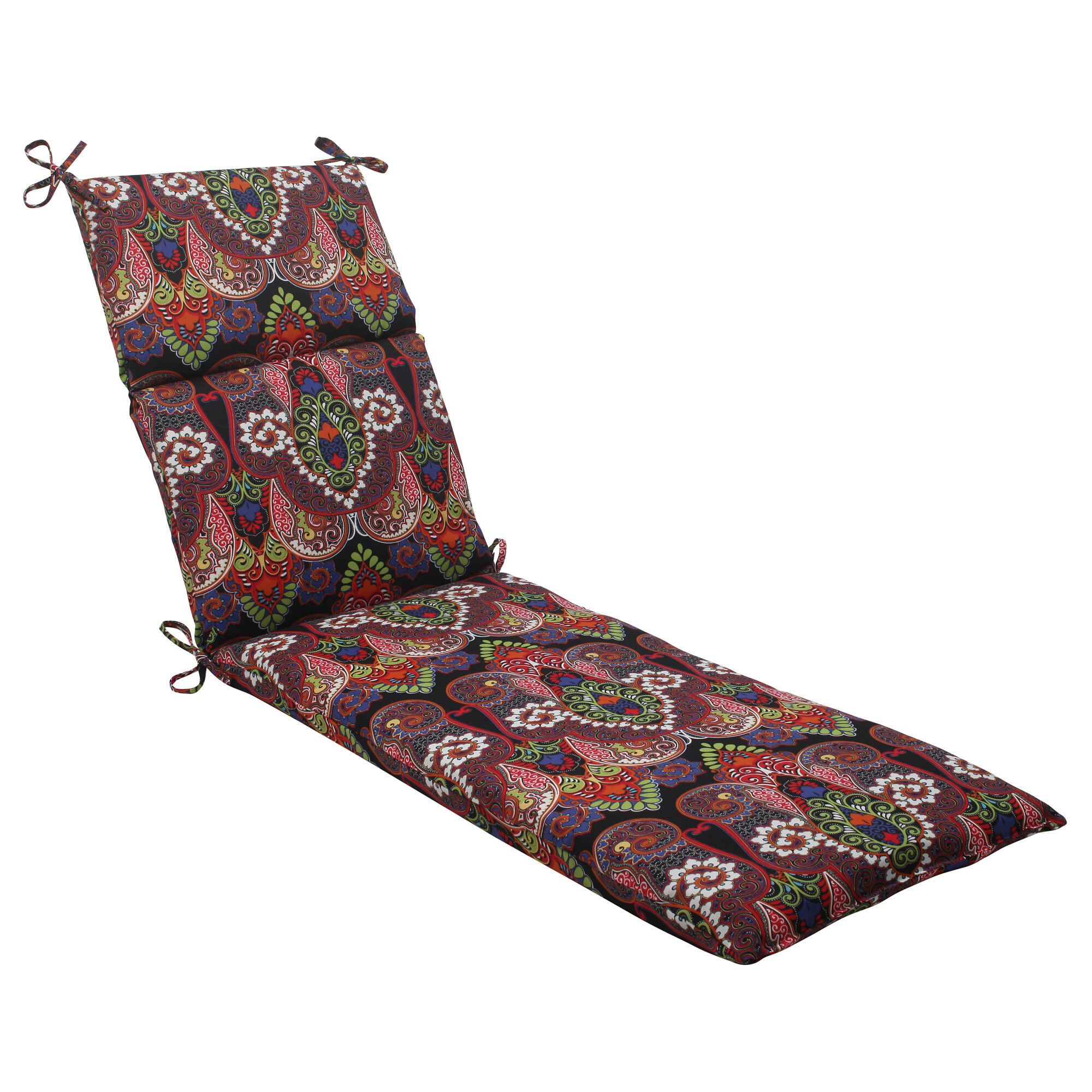 Pillow perfect marapi outdoor chaise lounge cushion ebay for Chaise lounge cushion outdoor