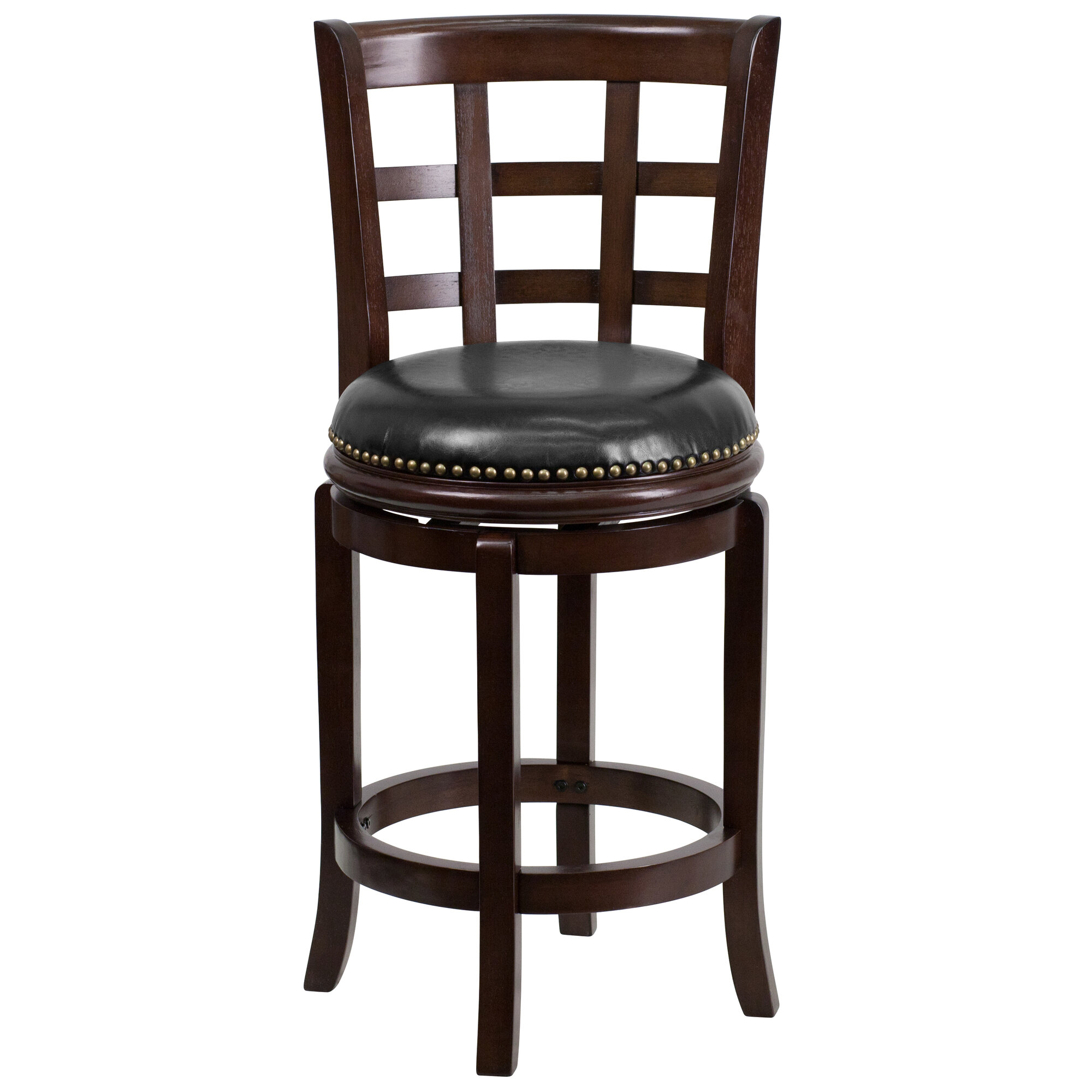 24 Swivel Counter Stools With Back Flash Furniture 24