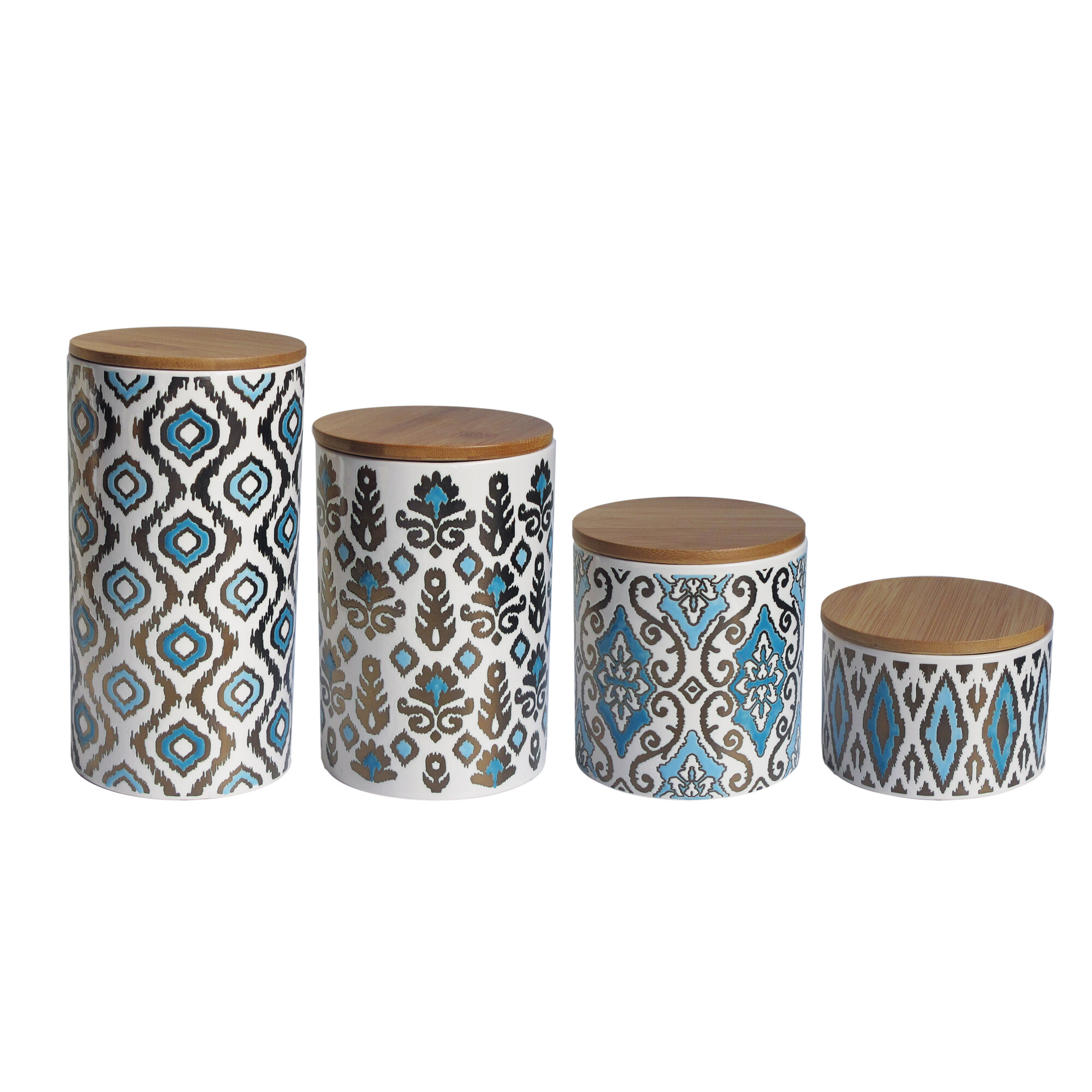 28 4 piece kitchen canister sets 4 piece canister set 4 piece kitchen canister sets american atelier weber 4 piece kitchen canister set ebay