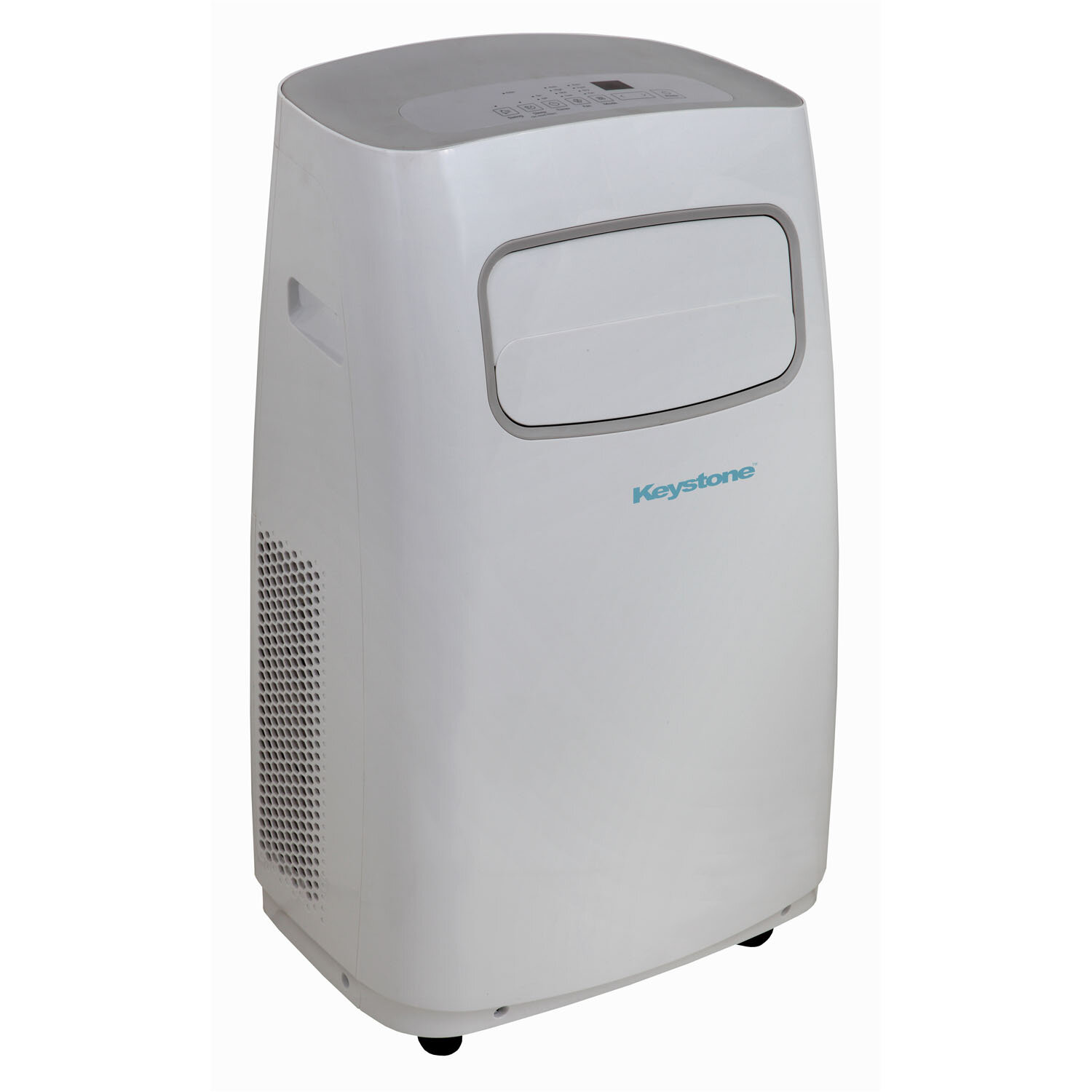 #566D75 Keystone 12 000 BTU Portable Air Conditioner With Remote  Recommended 9877 15000 Btu Portable Air Conditioner pics with 1500x1500 px on helpvideos.info - Air Conditioners, Air Coolers and more