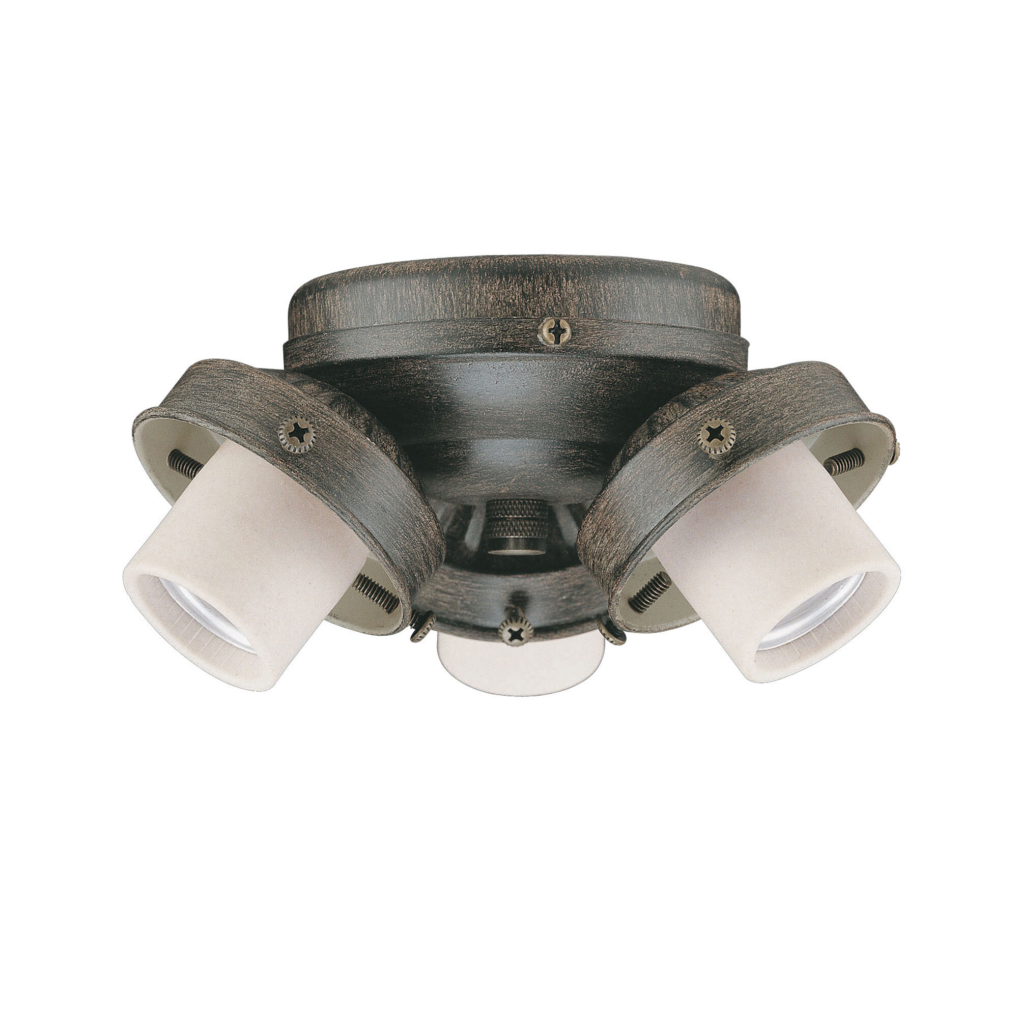 Concord Fans Turtle 3 Light Branched Ceiling Fan Light Kit