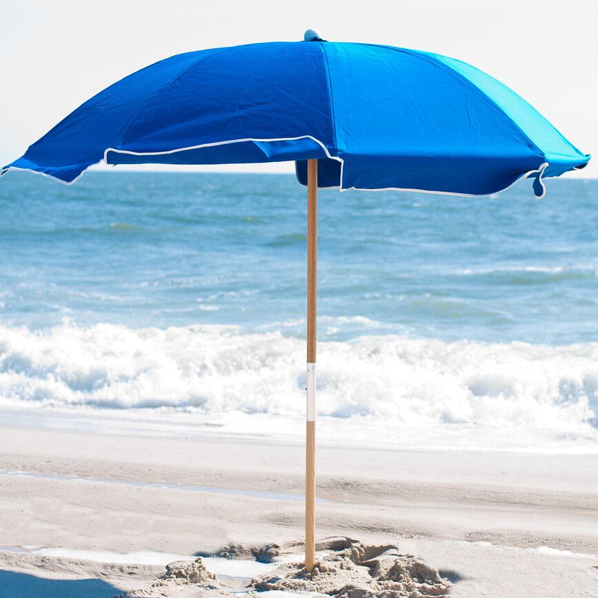 Beach Umbrella: Frankford Umbrellas 7.5' Beach Umbrella