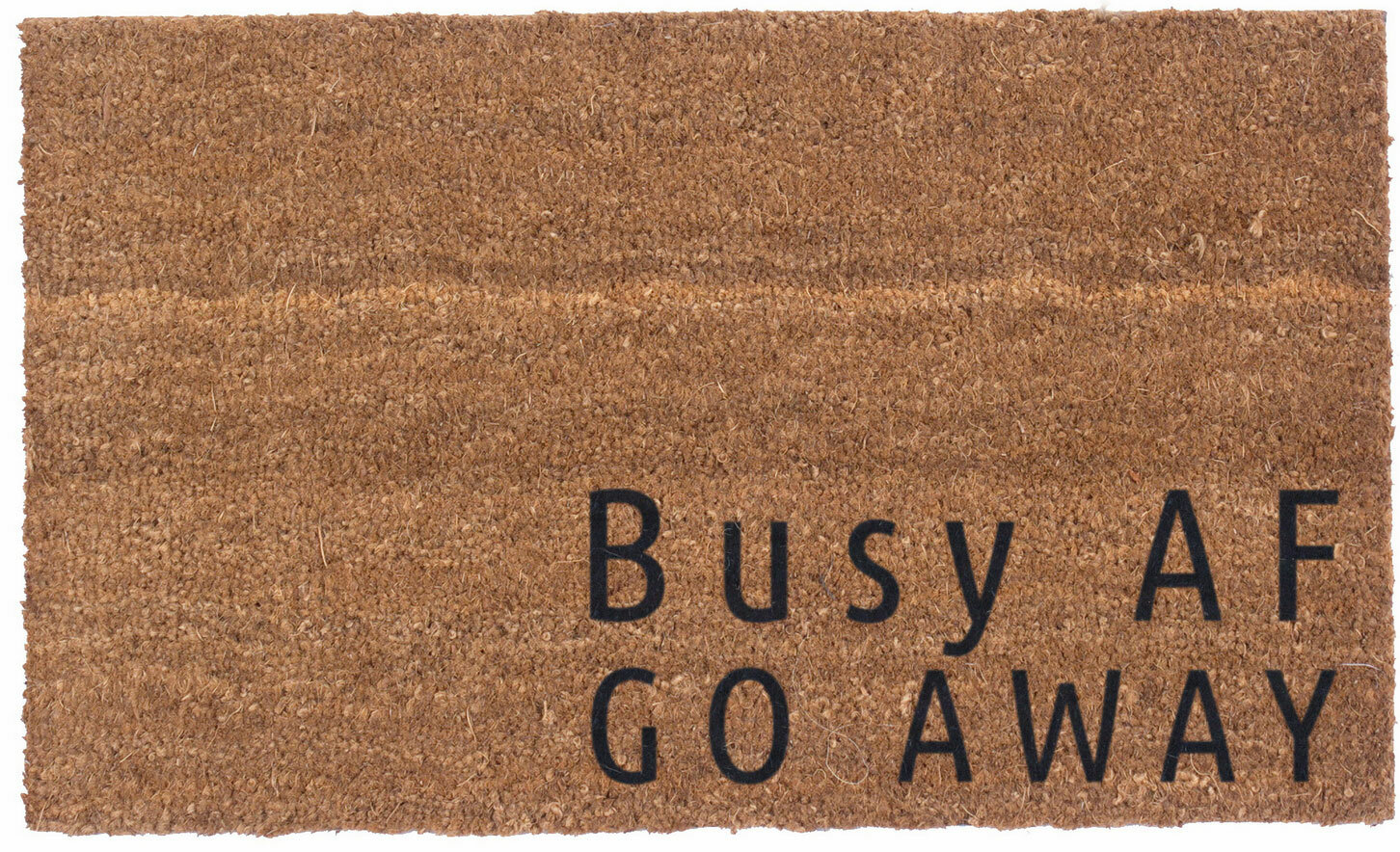 Coco Mats N More Busy Af Go Away Vinyl Backed Doormat Ebay