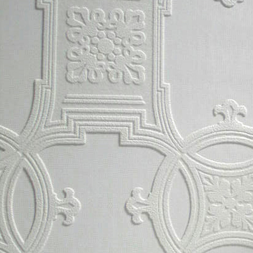 Anaglypta paintable early victorian 33 39 x 20 5 abstract for 3d embossed wallpaper