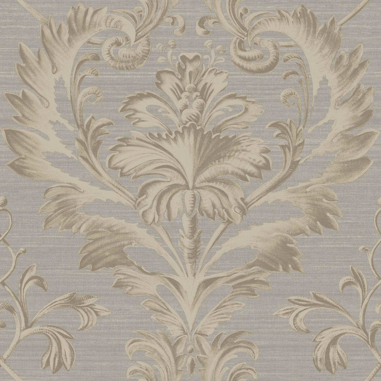 Brilliance tangler brilliant 33 39 x 20 5 damask 3d for 3d embossed wallpaper