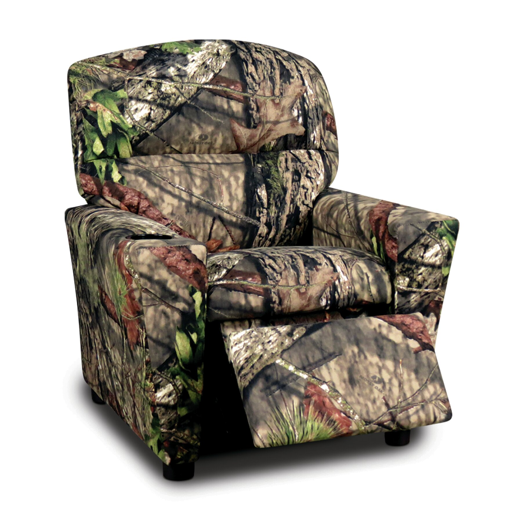 Mossy Oak Kids Cotton Recliner With Cup Holder Ebay