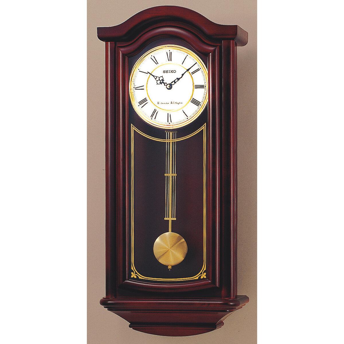 Seiko Solid Wood Pendulum Wall Clock Ebay
