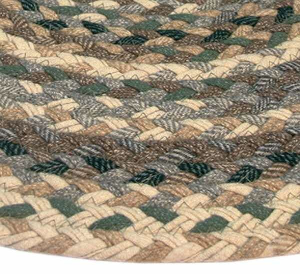 Thorndike Mills Beacon Hill Runner Green/Beige Plaid Area Rug