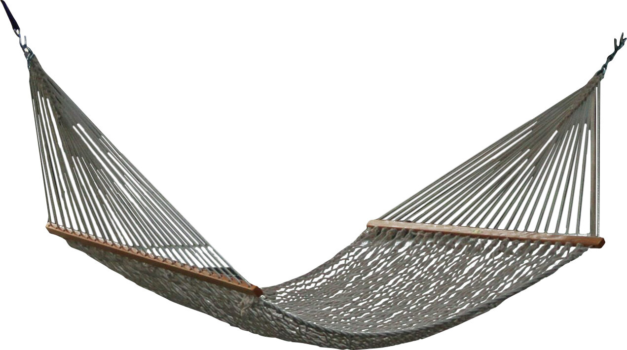 Pawleys island presidential size original duracord rope for Rope hammock plans