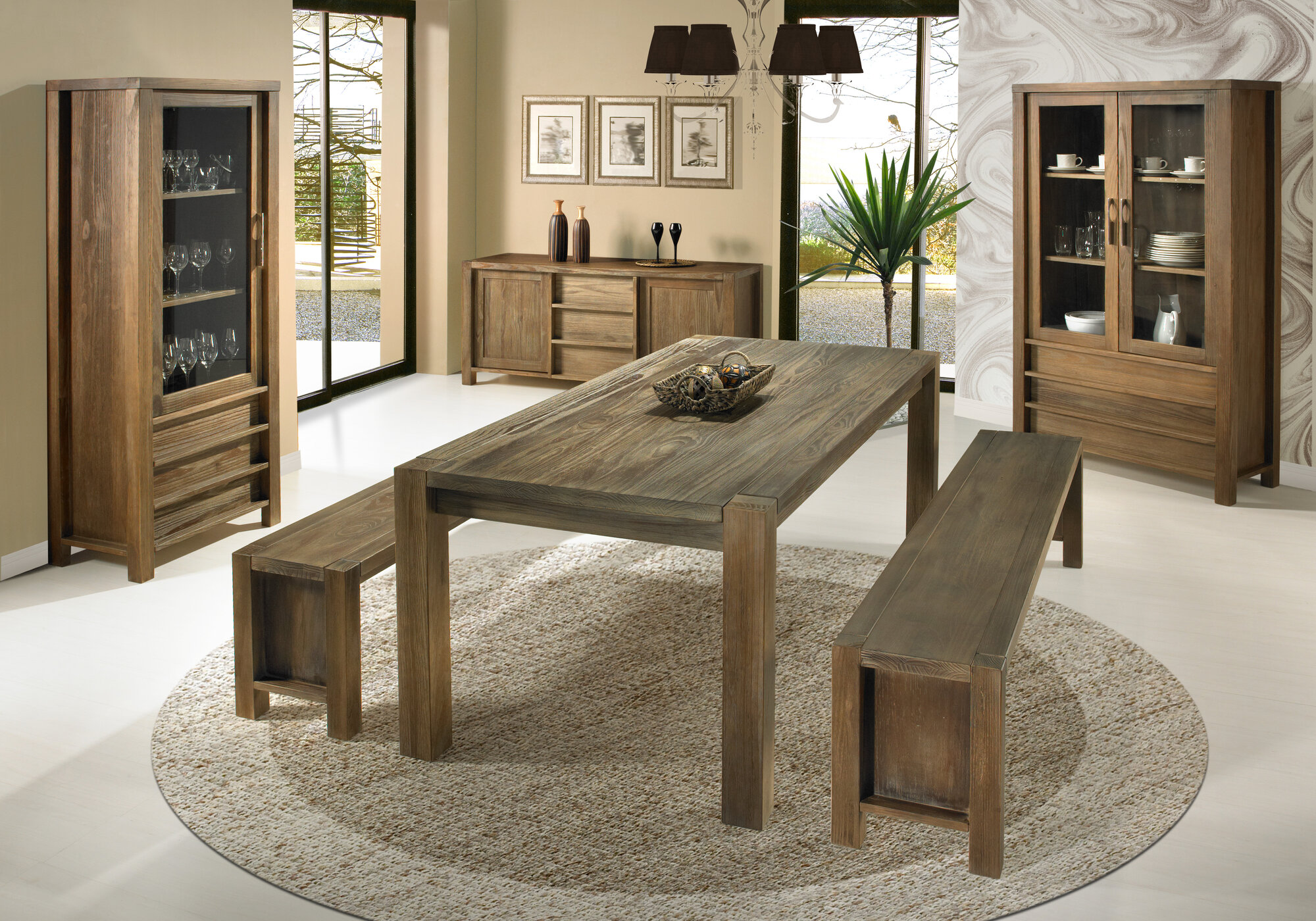 Wildon home linear dining table ebay for Wildon home dining