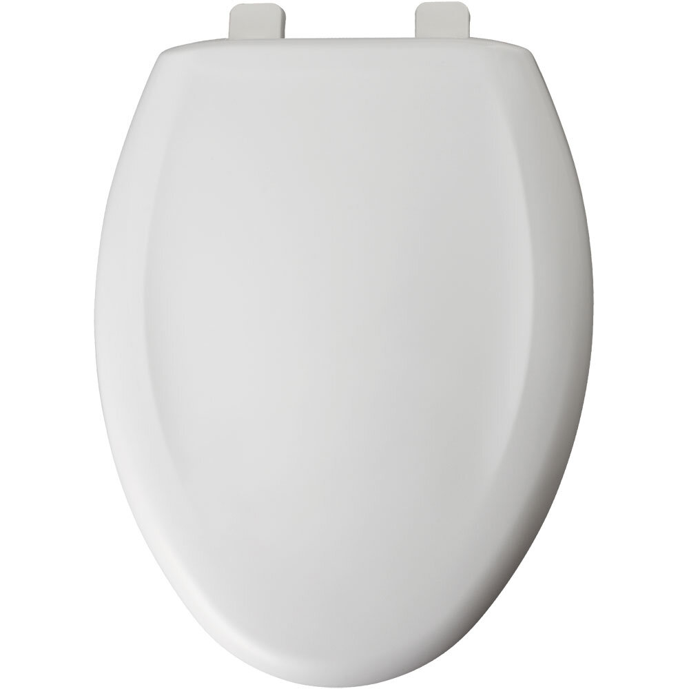 Bemis Residential Plastic Elongated Toilet Seat Crane White EBay