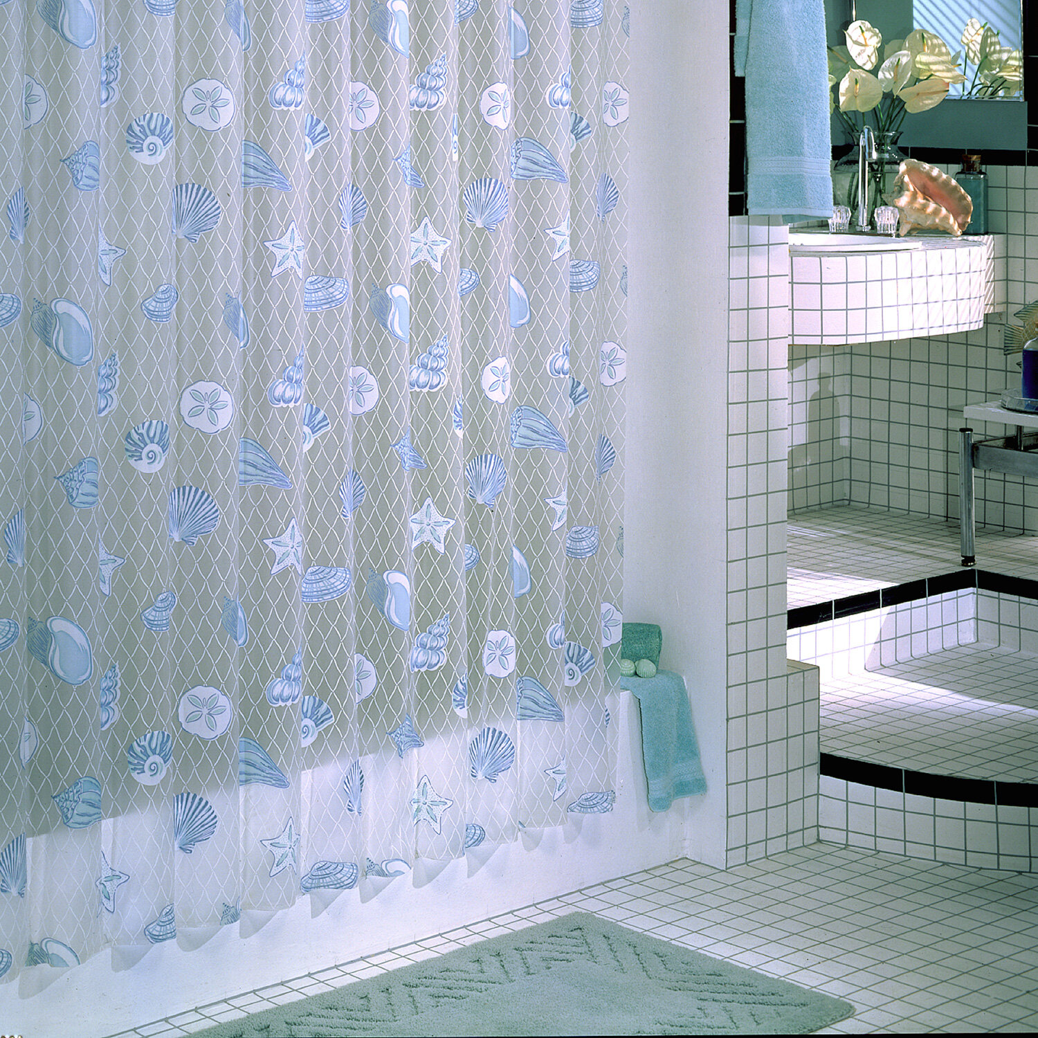 Sexy hot, adult theme shower curtain