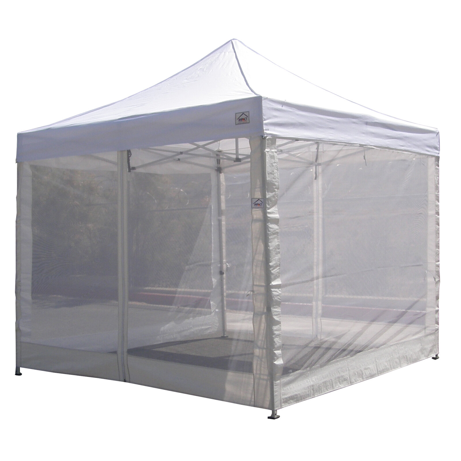 10 X10 Pop Up Canopy Tent Mesh Sidewalls Screen Room