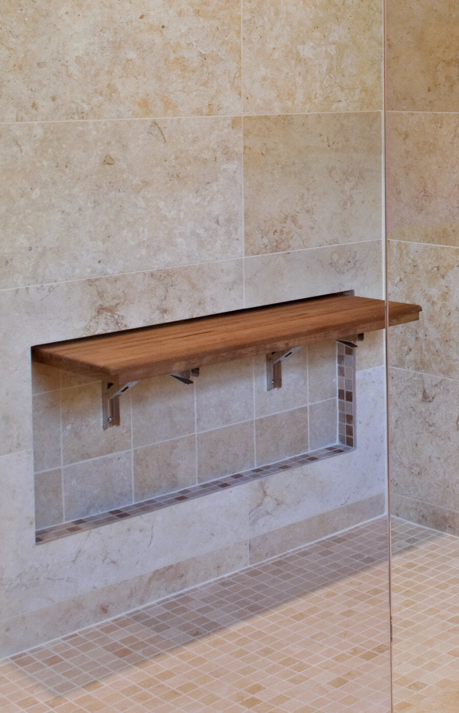 Teakworks4u Teak Wall Mount Fold Down Shower Bench Seat Ebay