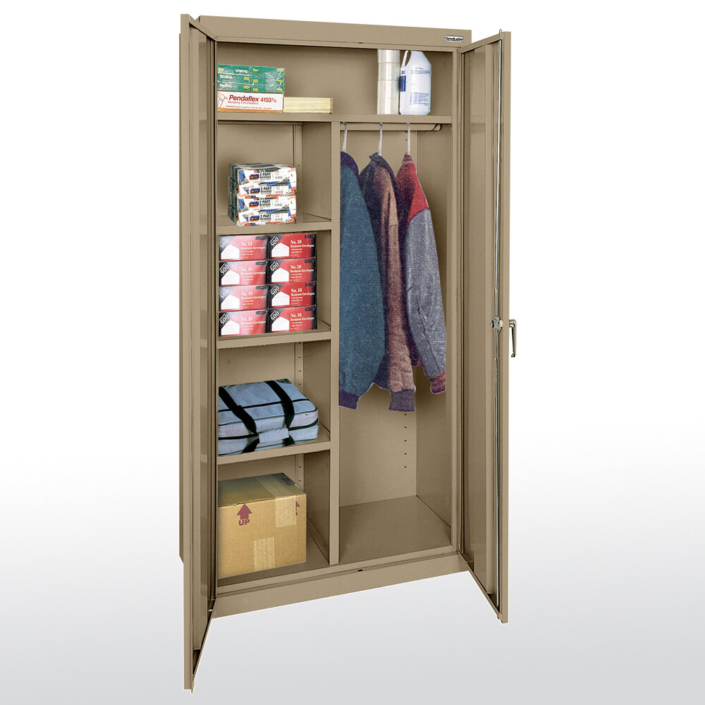 Sandusky Cabinets Classic Plus 72 H X 36 W X 24 D 2 Door Storage Cabinet Ebay