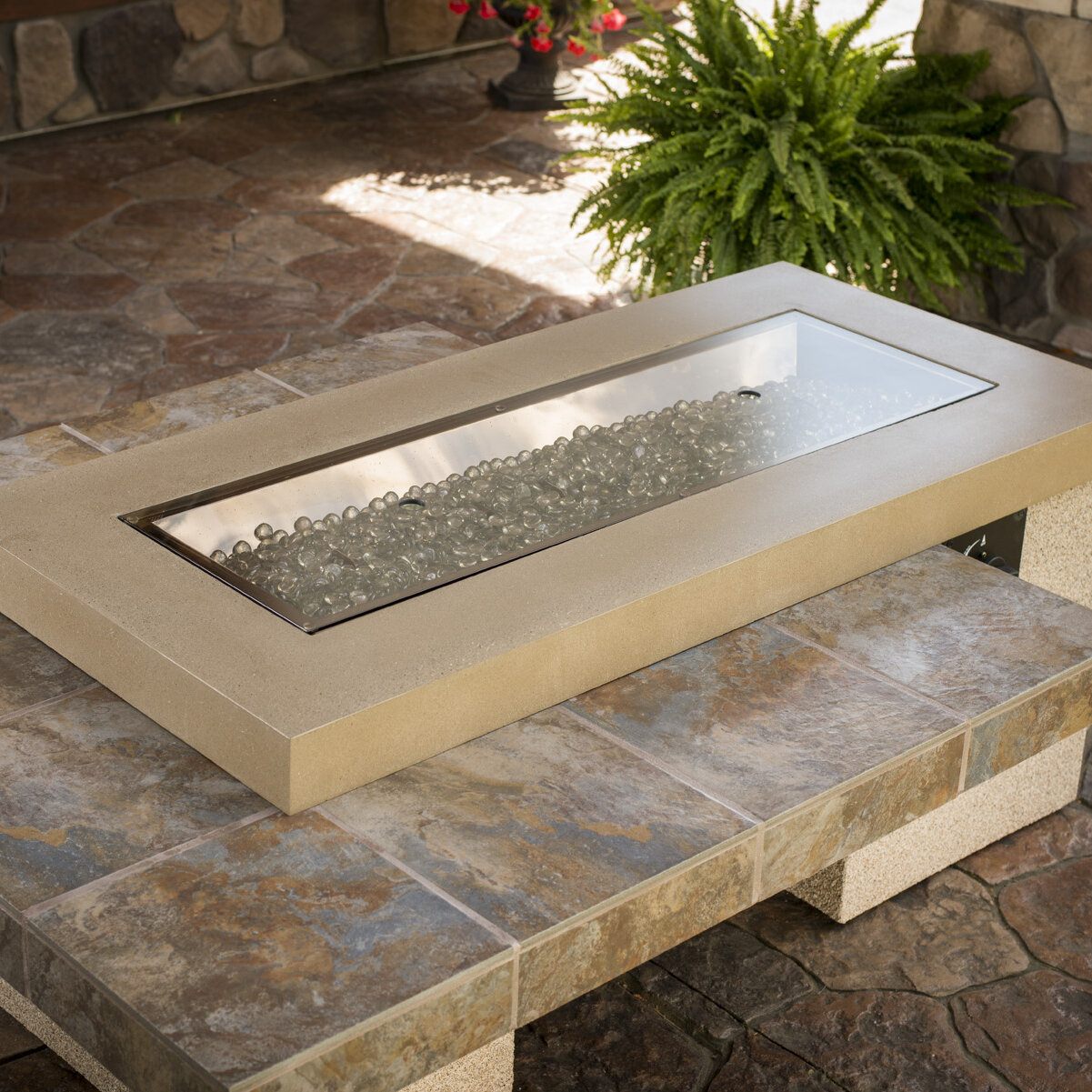 The Outdoor Greatroom Company Fire Pit Glass Cover Ebay