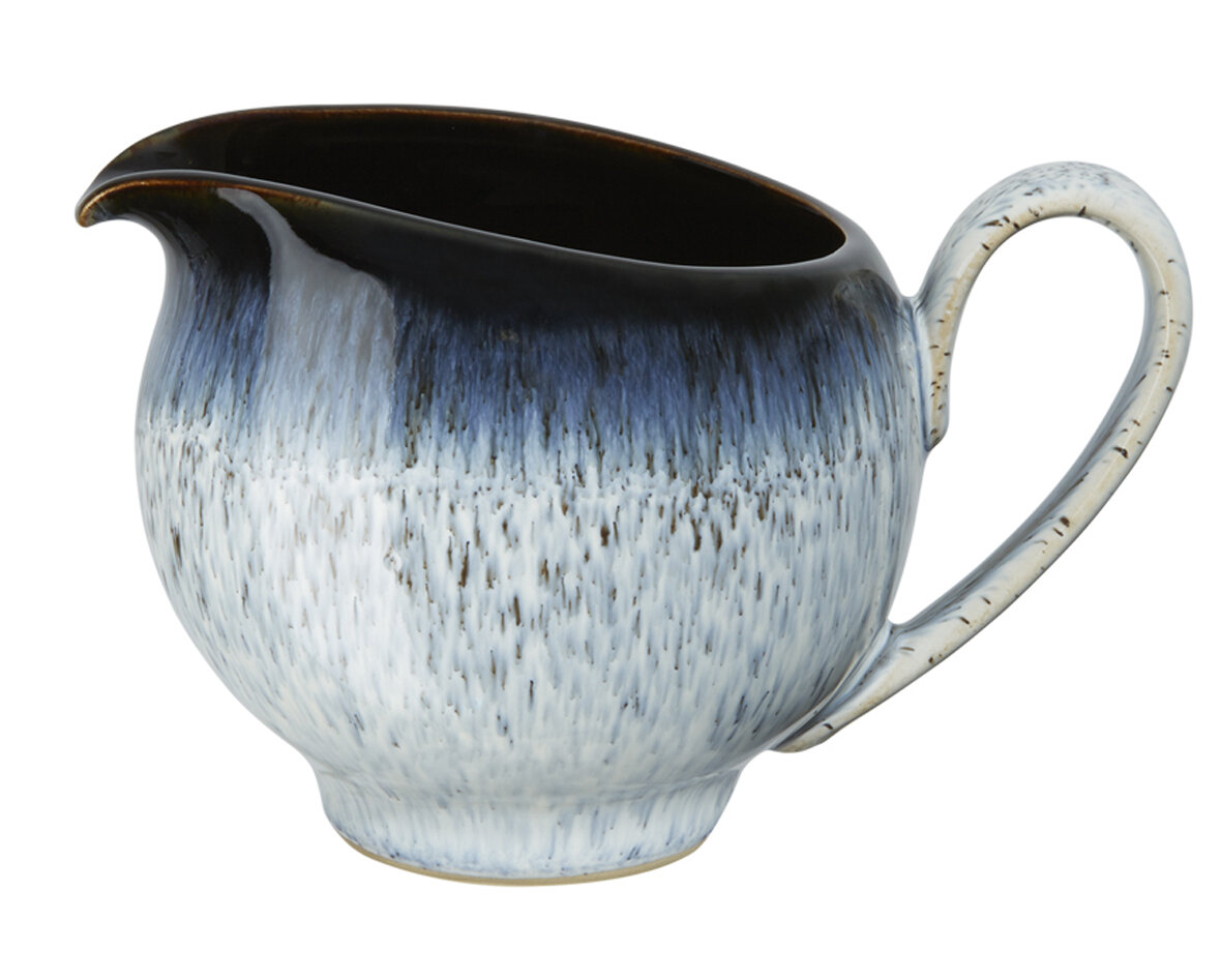 denby halo 9 oz small pitcher. Black Bedroom Furniture Sets. Home Design Ideas