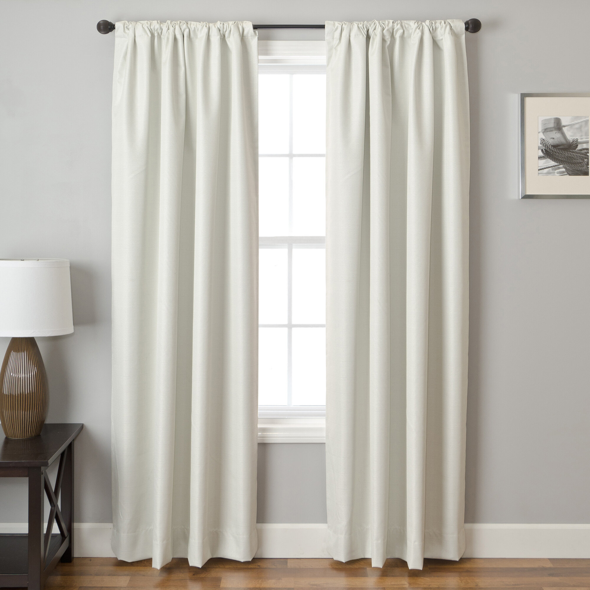 Softline Home Fashions Mural Curtain Panel