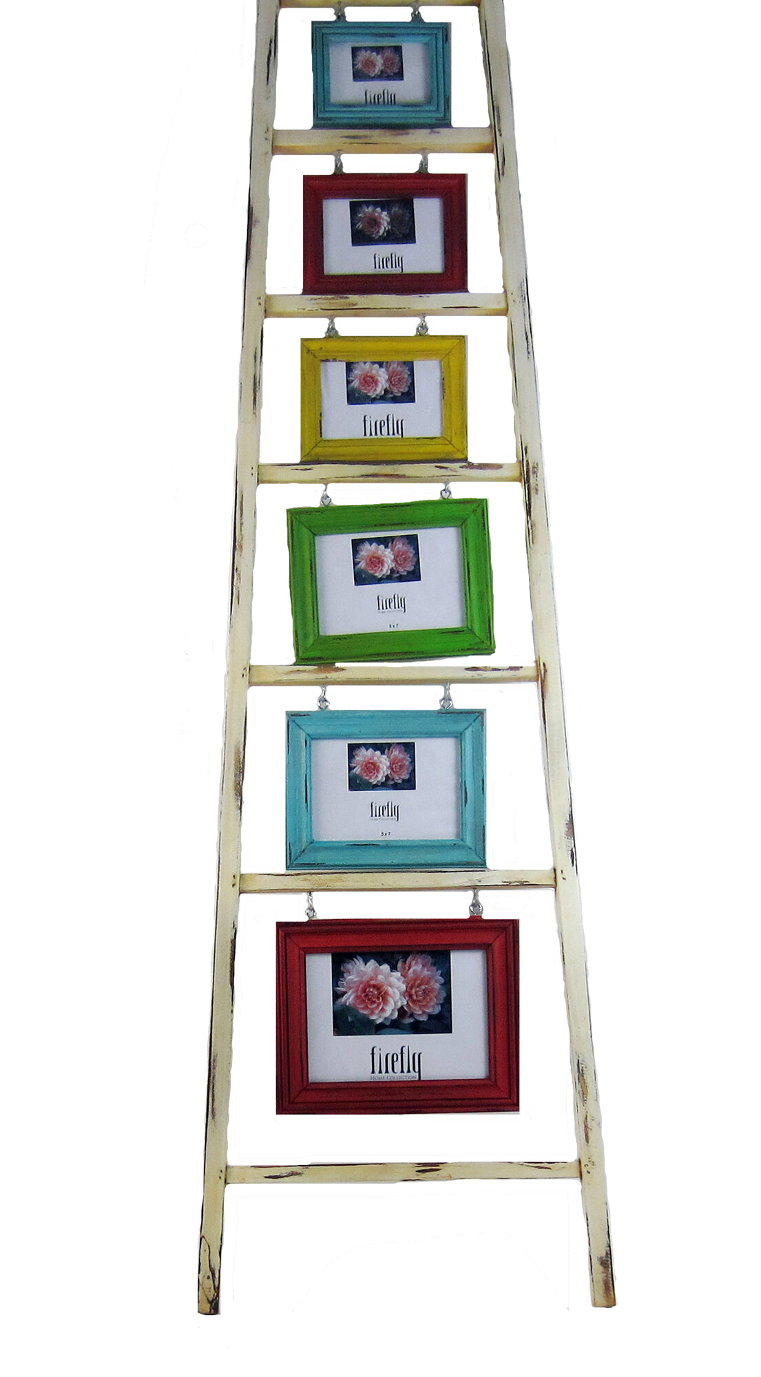 Firefly Home Collection Wooden Ladder Picture Frame