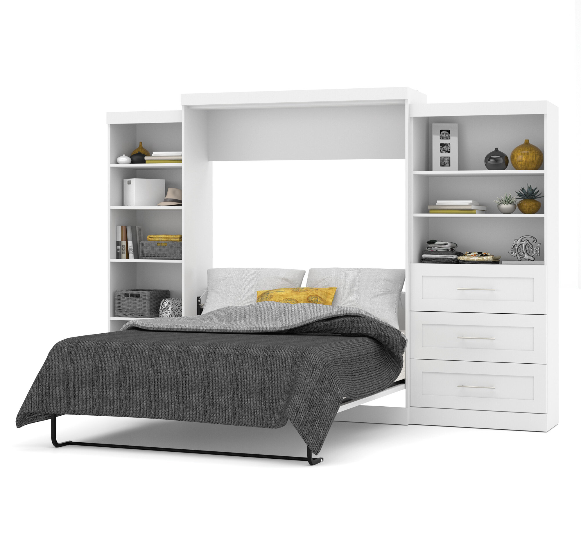 Bestar Queen Murphy Bed Ebay