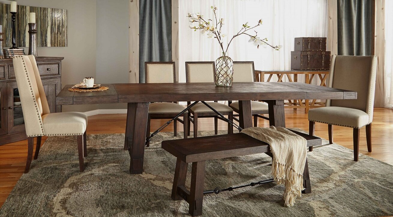 Orient Express Furniture Traditions Carter Extendable Dining Table
