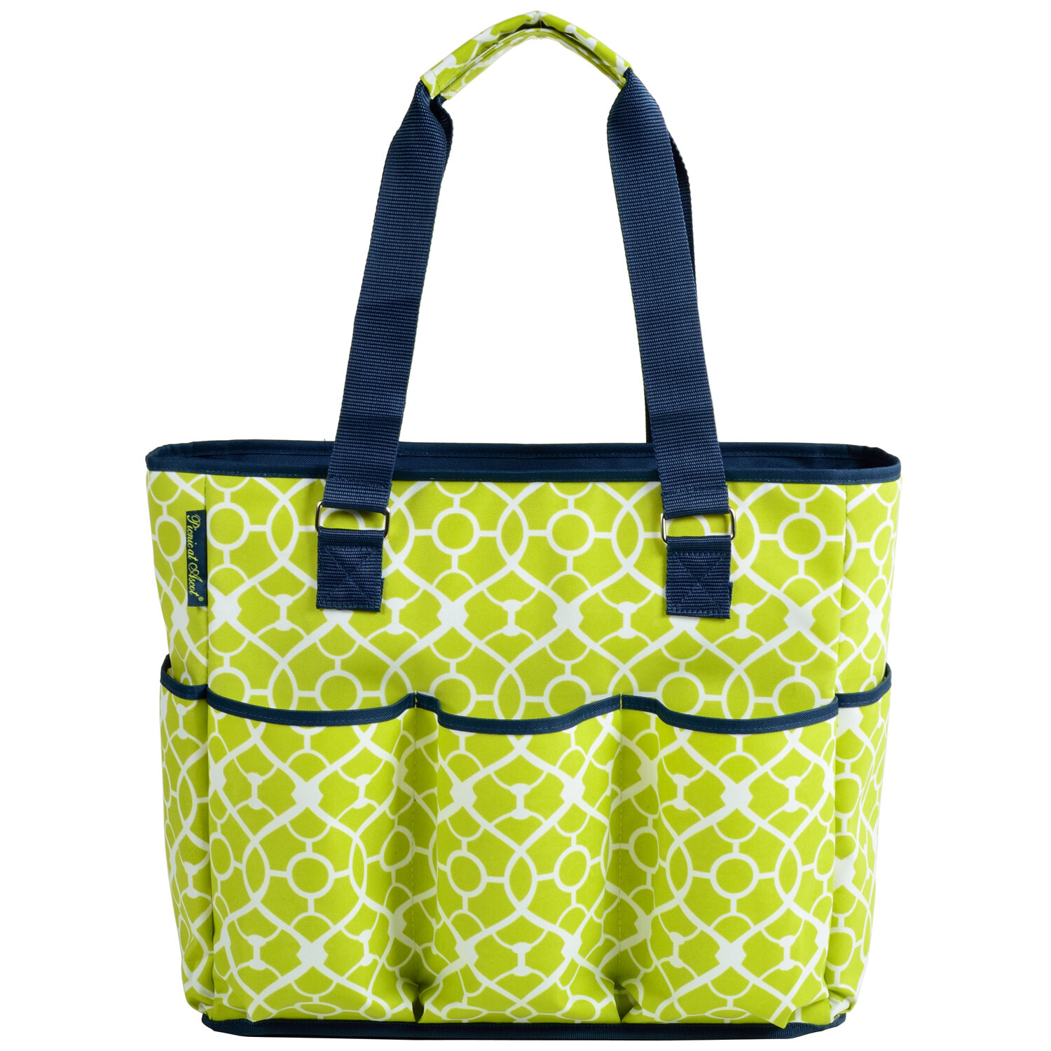 Picnic At Ascot 3 Can Large Insulated Multi Pocket Tote