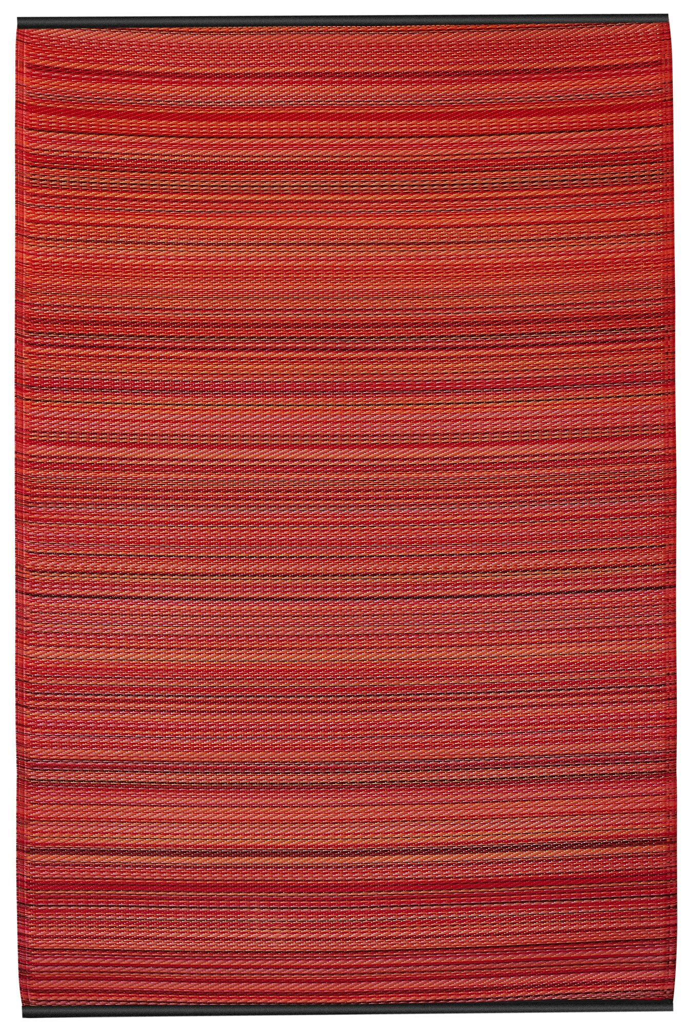 Fab habitat world cancun hand woven red indoor outdoor for Woven vinyl outdoor rugs