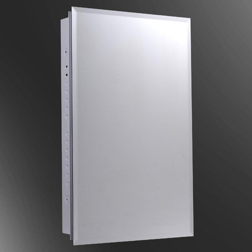 Ketcham Medicine Cabinets Euroline 16 X 30 Surface Mount