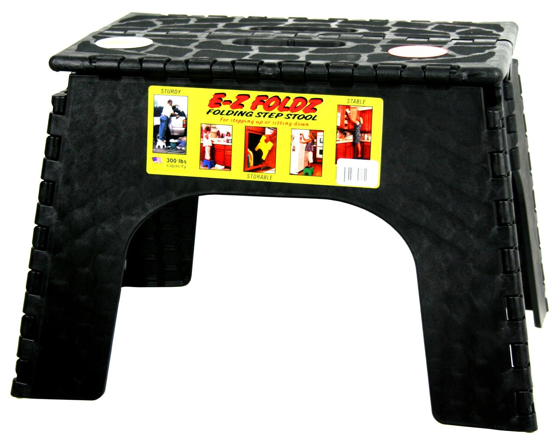B Amp R Plastics 1 Step Ez Folds Folding Step Stool With 300